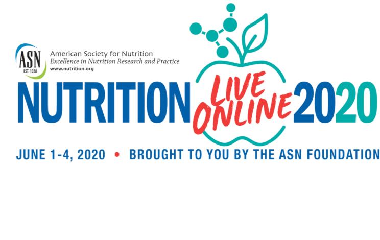 ASN Nutrition 2020 - Live Online