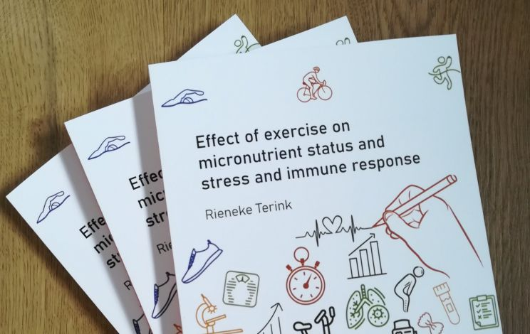 Promotie Eat2move - Effect of exercise on micronutrient status and stress and immune response