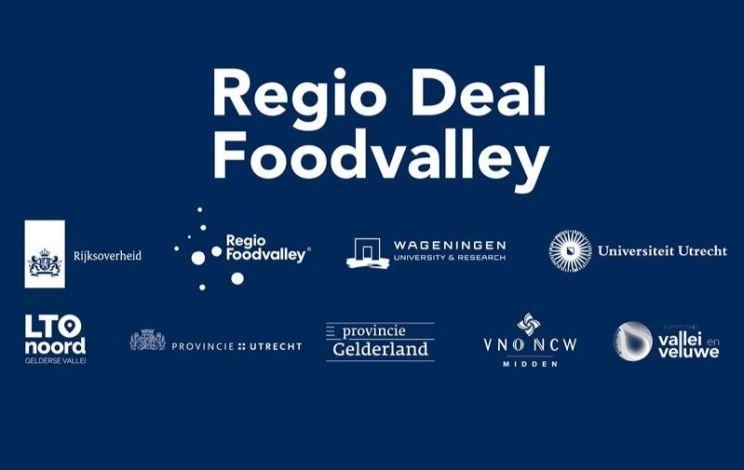 Online netwerkbijeenkomst Regio Deal Foodvalley