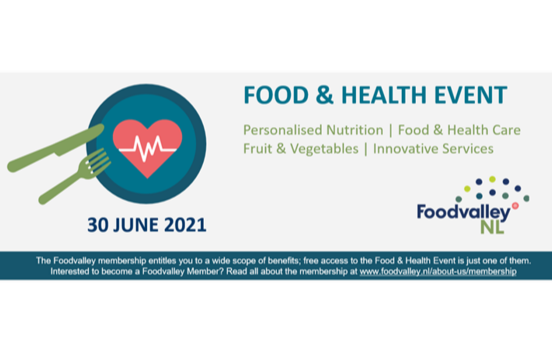 Foodvalley Food & Health event (members only)