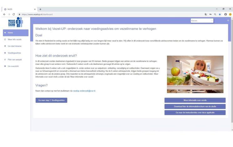 Voldoende vezels eten: digitaal, gepersonaliseerd voedingsadvies helpt