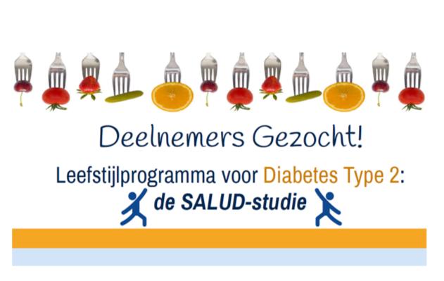 Gezocht: hulp bij van werving deelnemers leefstijlinterventiestudie voor mensen met diabetes type 2