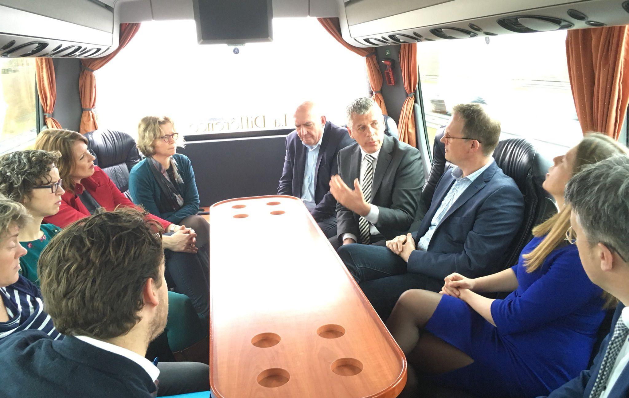 Minister Schouten bezoekt Regio FoodValley
