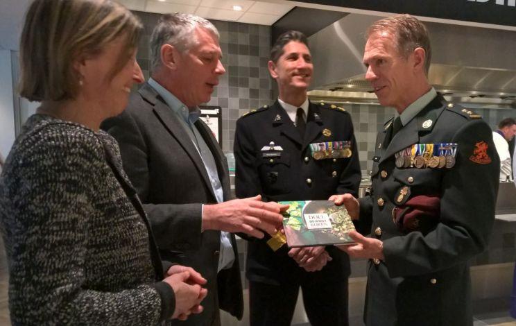 Nieuw voedingsconcept in Militair Revalidatie Centrum