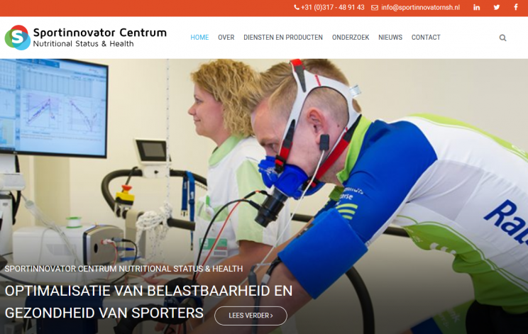 Website Sportinnovator Centrum Nutritional Status & Health online!