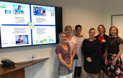 Deense delegatie haalt inspiratie op over ondervoeding